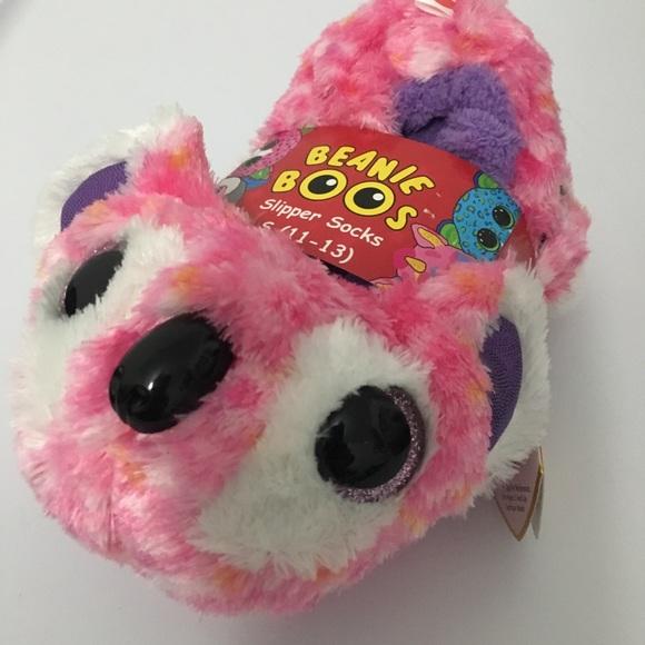 36c4d6a3c71 SLIPPERS TY BEANIE BOOS pink bear koala   kacey